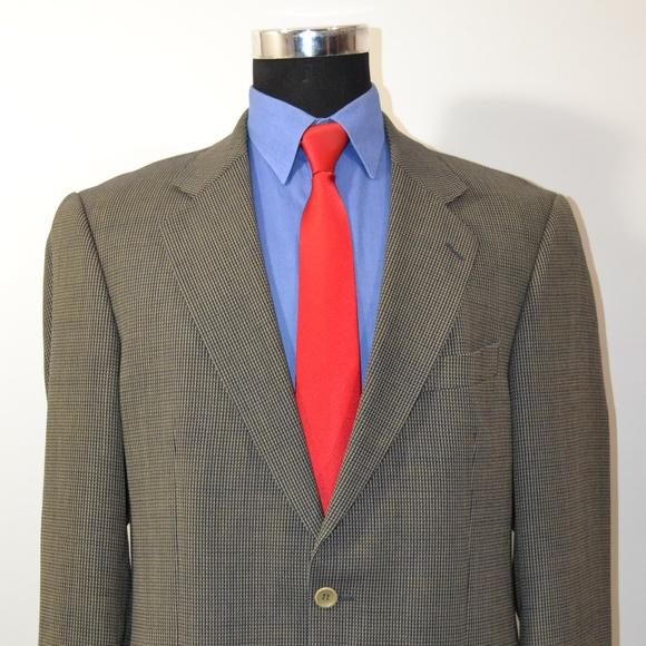 Cavelli 42L Sport Coat Blazer Suit Jacket